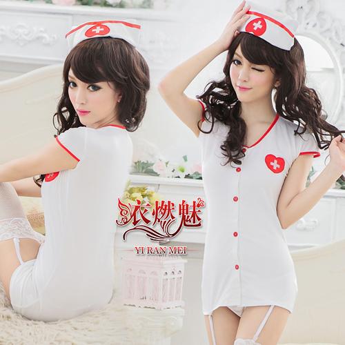 護士誘惑!三件式角色扮演遊戲服