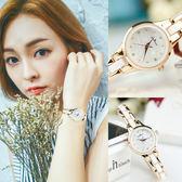 手錶女士學生韓版簡約休閒大氣女表時尚潮流防水新款陶瓷石英腕表