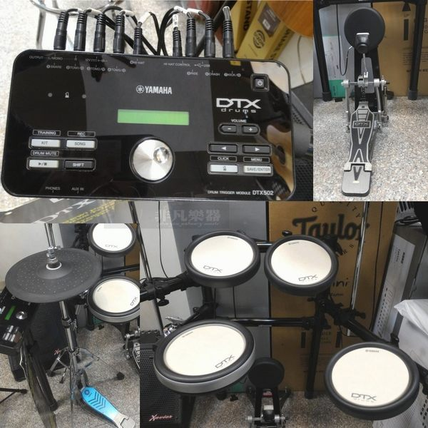 【非凡樂器】福利商品 YAMAHA DTX562K / 高階電子鼓 / 完美還原爵士鼓聲響 /台灣公司貨