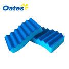 澳洲Oates 專利抗菌耐磨波浪海綿菜瓜布(藍色~細緻餐具及不沾鍋鍋具專用)x1pcs