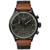 TIMEX 天美時 雙眼計時 手錶(TXT2P95500) Waterbury系列 灰黑面