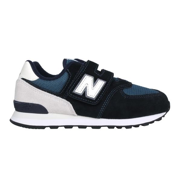NEW BALANCE 男中童休閒運動鞋-WIDE(免運 574系列 N字鞋 NB「PV574BD1」≡排汗專家≡