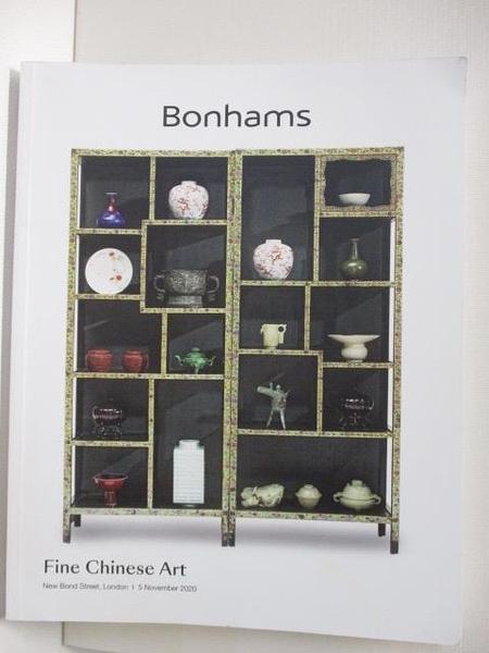 【書寶二手書T6/收藏_EWL】Bonhams_Fine Chinese Art_2020/11/5