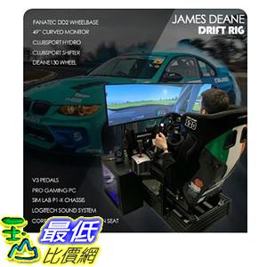[9美國直購] 遊戲設備套組 JAMES DEANE DRIFT RIG. FULL TURN-KEY REPLICA OF JAMES DEANE'S PRO SIM RIG