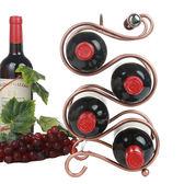 酒架 鐵藝擺件葡萄酒架子 時尚酒瓶架 歐式家居多瓶裝  XY1625  【棉花糖伊人】