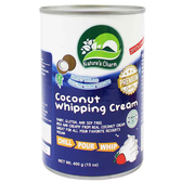 Nature's Charm椰子鮮奶油400gX24罐/箱_愛家嚴選純素 素食奶油 甜點DIY 糕點裝飾 椰奶製 出清價