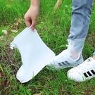 雨鞋套男女鞋套防水雨天防滑腳套加厚耐磨成人防水防雨硅膠鞋套 快速出貨