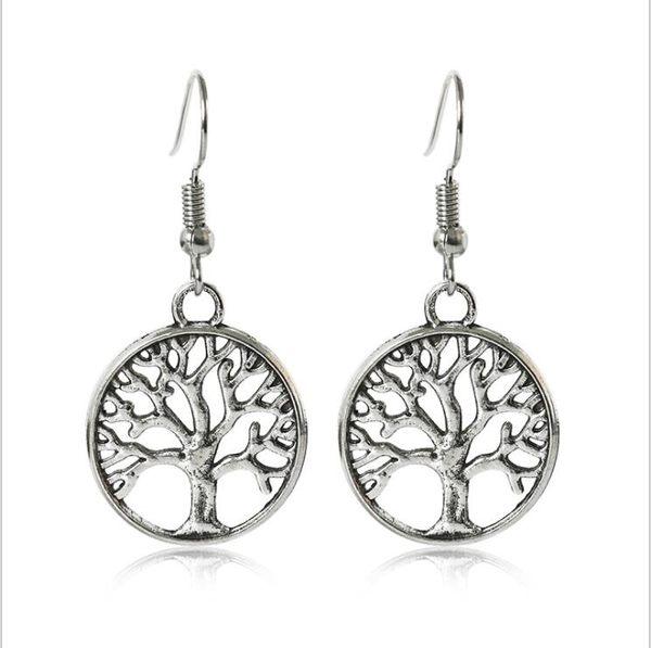爆款 時尚 創意 生命之樹 耳環 熱賣 復古 耳飾 新品