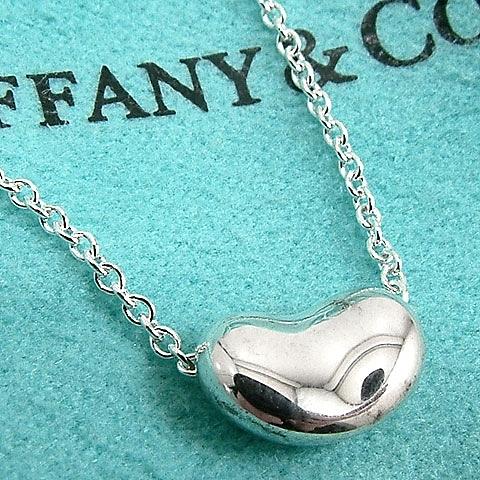 【奢華時尚】TIFFANY&Co. BEAN 迷你相思豆項鍊#6108