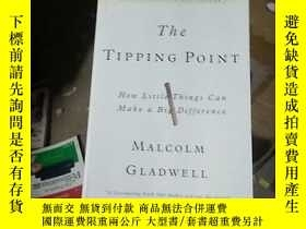 二手書博民逛書店The罕見Tipping PointY15389 Malcolm