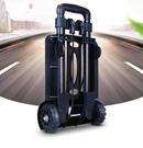 家用小推車 拉桿車小拉車折疊便攜手拉車 購物拉貨拖車搬運行李 「時尚彩紅屋」
