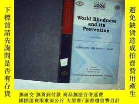 二手書博民逛書店WORLD罕見BLINDNESS AND ITS PREVENT