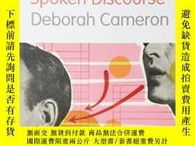 二手書博民逛書店Working罕見With Spoken Discourse-使用口頭語篇Y436638 Deborah Ca