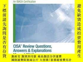 二手書博民逛書店Cisa罕見Review Questions, Answers & Explanations Manual 201