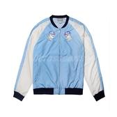 Asics 外套 WVN GPAPHIC FZ JKT 水藍 白 男款 棒球外套 橫須賀 運動休閒 【PUMP306】 2191A240401