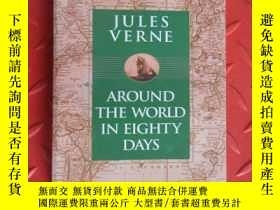 二手書博民逛書店JULES罕見VERNE AROUND THE WORLD IN