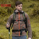 防風防水透氣保暖 男 彈力輕量衣 軟殼衣