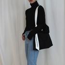 帆布包小眾設計大包側背斜背帆布包2020新款潮大容量日系文藝女包休閒包 JUST M