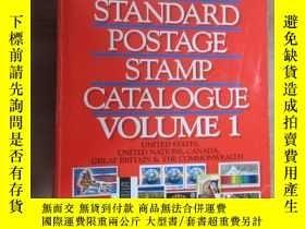 二手書博民逛書店外文書罕見1990 STANDARD POSTAGE POSTAGE STAMP CATALOGUE VOLUME