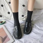 小皮鞋小皮鞋女一腳蹬復古英倫風新款潮鞋秋季百搭單鞋 芊惠衣屋