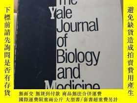 二手書博民逛書店The罕見Yale Journal Of Biology And