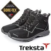 【Treksta 韓國】STA 102 MID LACE 男 GTX 防水中筒健行鞋『黑灰』KR20CM 越野鞋.登山鞋.Gore-Tex
