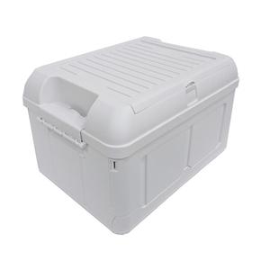 多功能雙層掀蓋折疊收納箱