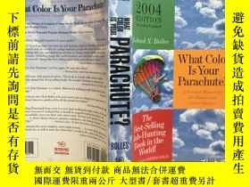 二手書博民逛書店What罕見Color is Your Parachute?你的