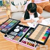 兒童畫畫工具套裝畫筆禮盒小學生水彩筆繪畫美術學習用品生日禮物 JY9746【潘小丫女鞋】