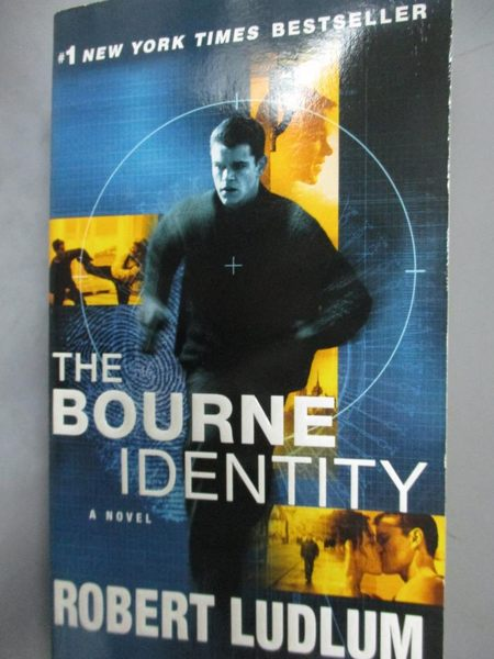 【書寶二手書T5/原文小說_LFD】The Bourne Identity_Ludlum, Robert