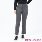 【RED HOUSE 蕾赫斯】反摺西裝褲(共2色)