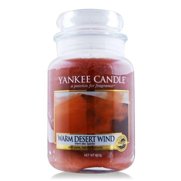 YANKEE CANDLE 香氛蠟燭-溫暖的沙漠風 Warm Desert Wind(623g)
