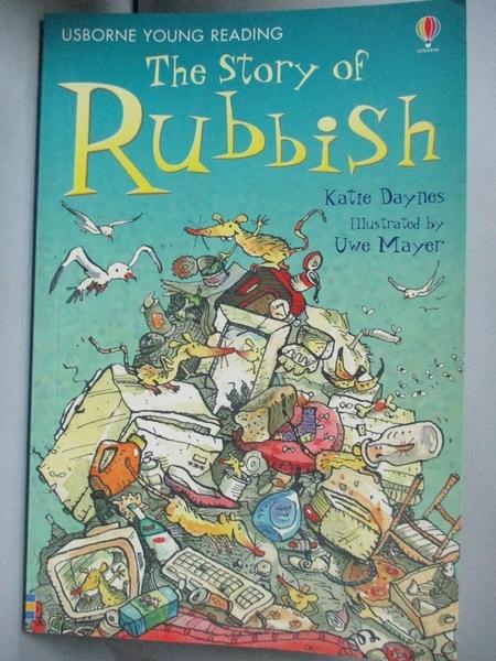 【書寶二手書T4/原文小說_KJU】The Stinking Story Rubbish 惡臭的垃圾故事_凱蒂·戴恩斯(Katie Daynes)