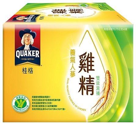 桂格養氣人蔘雞精 雙效滋補盒裝6瓶【屈臣氏】