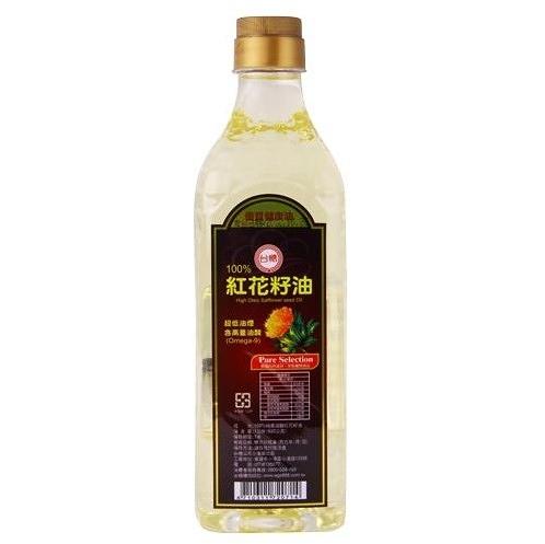 台糖紅花籽油1L