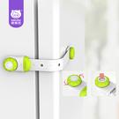 寶寶安全鎖抽屜鎖嬰兒童防護櫃門馬桶鎖密碼鎖扣冰箱鎖3個 童趣潮品