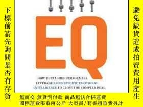 二手書博民逛書店Sales罕見EQ: How Ultra High Performers Leverage Sales-Speci