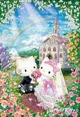 【拼圖總動員 PUZZLE STORY】甜蜜婚禮 日本進口拼圖/Beverly/HELLO KITTY/150P/大片