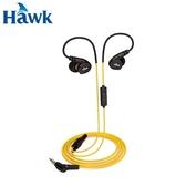 Hawk 逸盛 S300 防水運動型耳機麥克風 黃【原價299↘現省100】