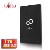 【鼎立資訊】Fujitsu 富士通 2.5吋 USB3.0 1TB 髮絲鋁殼行動硬碟 9.5mm 高速傳輸 相容於PC及MAC作業系統