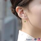 熱賣古風耳環 和田玉玉質銀耳環女999純銀2021年新款潮耳飾小耳扣古風2021耳圈 coco