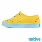 native 小童鞋 MILLER 小米勒晴雨鞋-時尚黃x超級藍