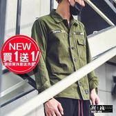 『潮段班』【GN001B02】外套買一送一 原創潮牌subcrude迷彩夾克外套迷彩外套  迷彩夾克