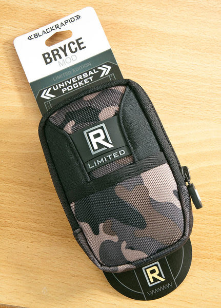 呈現攝影-BlackRapid 快槍俠 BRYCE-CAMO 布萊斯相機背帶配件袋 手機袋( 限量迷彩版) 快槍俠手