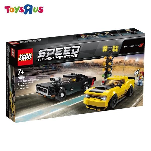 玩具反斗城  樂高 LEGO 75893 2018 Dodge Challenger SRT Demon and 1970