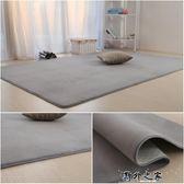 地毯 客廳臥室滿鋪榻榻米家用現代粉可定床邊墊 野外之家igo