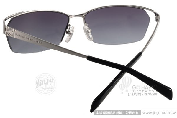 KATHARINE HAMNETT 太陽眼鏡 KH925 C01 (銀-藍) 日本工藝紳士眉框款 # 金橘眼鏡