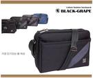 韓國斜紋拼布潮流斜背包 /側背包 【C6504】黑葡萄包包