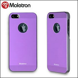Moletron ★ NUANCE for iPhone 5/5S 手機殼 超薄時尚保護背蓋系列-紫色