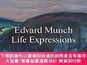 二手書博民逛書店Edvard罕見Munch. Life Expressions 愛德華·蒙克 生活表達Y363539 MUN